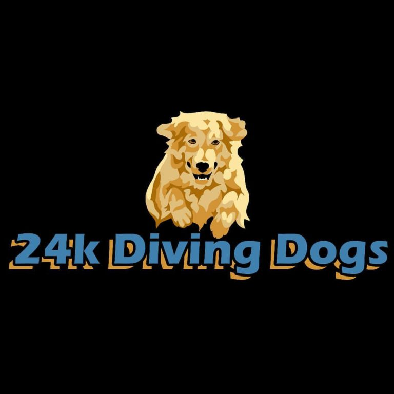 24 K Diving Dogs Logo