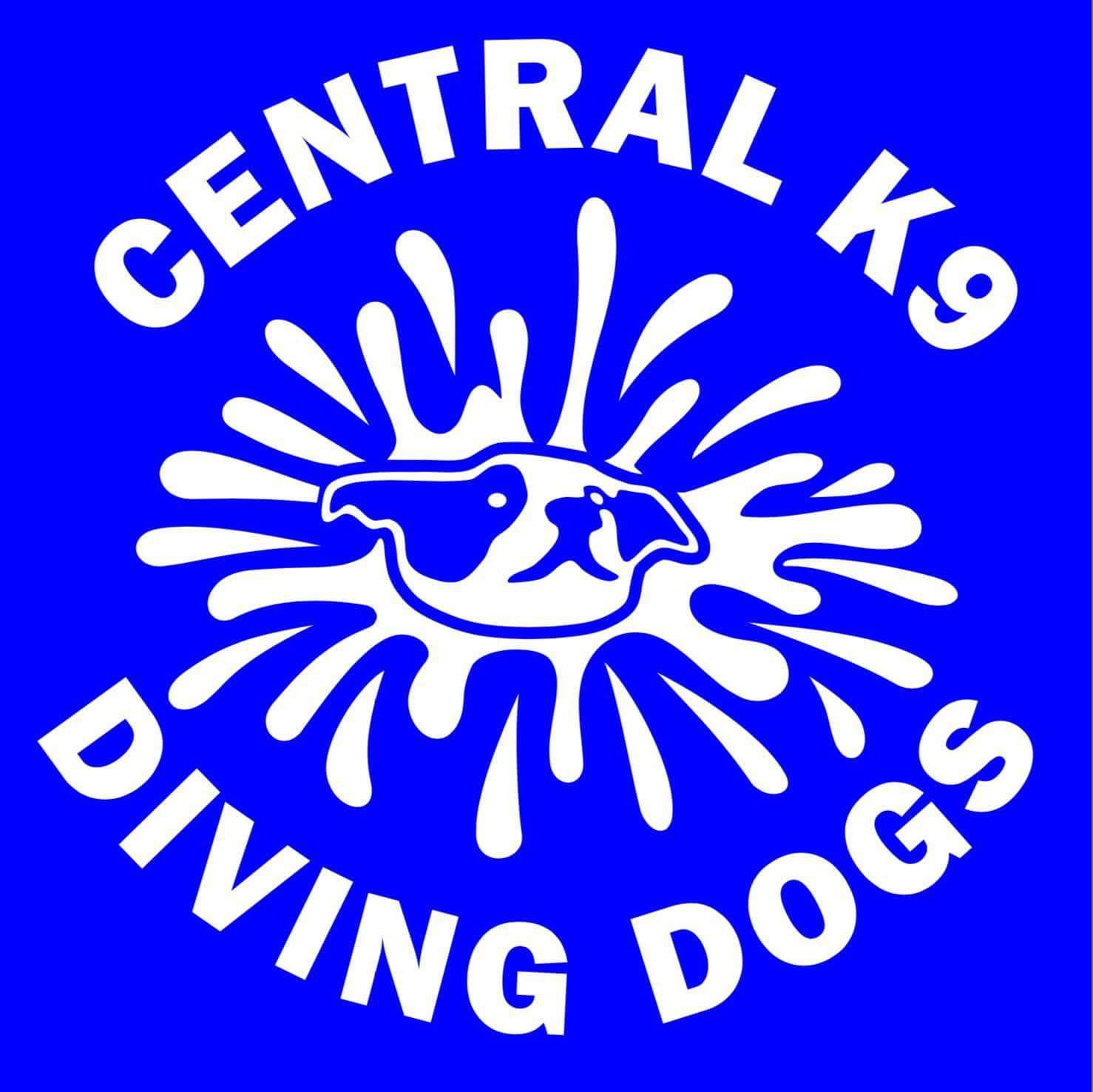 Central K9 Diving Dogs Logo