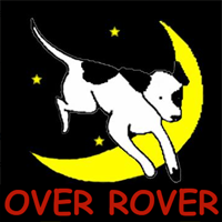 Splash-O-Rama (Over Rover Training)  Logo